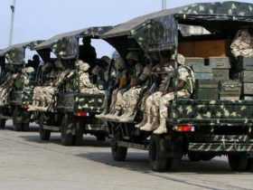 Tension as men in military uniform invade Rivers community