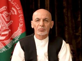 Exiled Ashraf Ghani apologizes to Afghan people