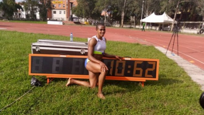 Blessing Okagbare, a Nigerian Athlete, have emerged '2nd fastest woman in the world'
