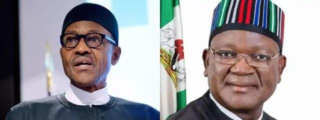 Buhari: I'm disappointed Ortom is blaming me for Benue killings