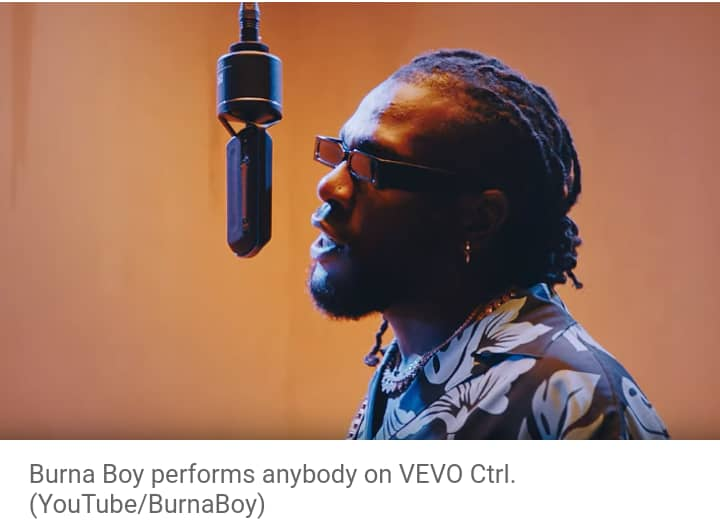 """Burna Boy nominated for""""Twice as Tall"""", Grammy Awards"""