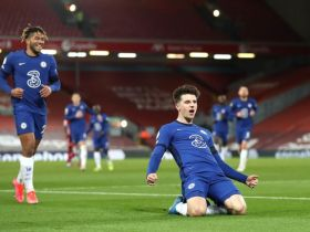EPL: Chelsea beat Liverpool at Anfield courtesy of Mason Mount's goal