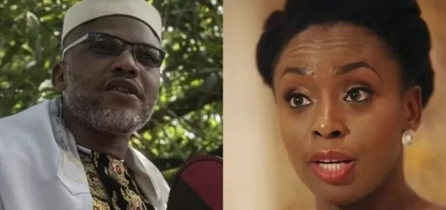 There is No Biafra: What do you know about Biafra - Kanu asks Adichie