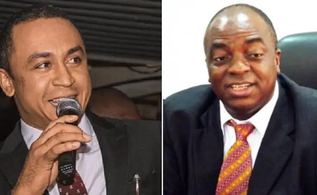 Daddy Freeze has apologise to Bishop David Oyedepo