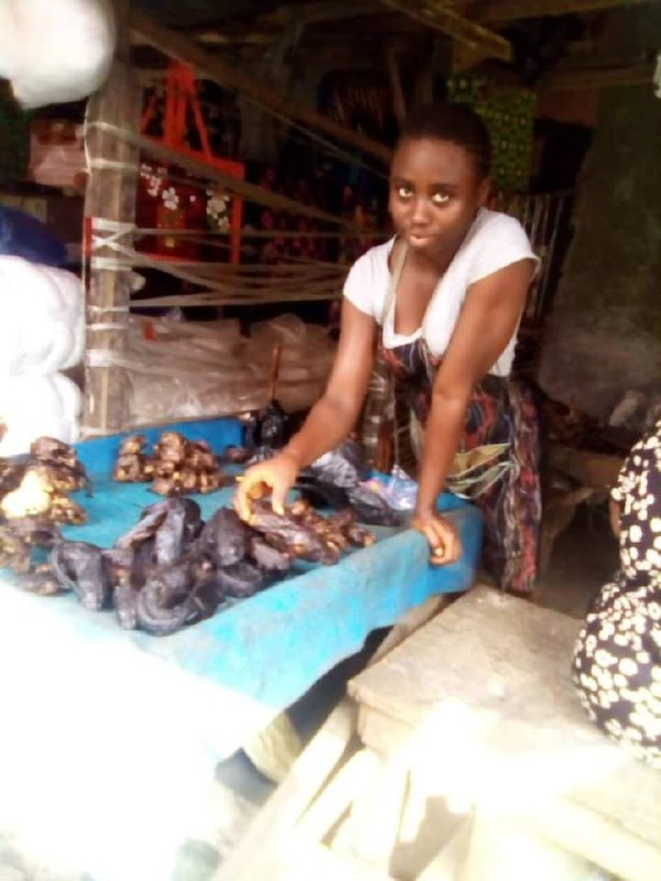 Fish Seller, Destiny Abraham, wins Princewill 'Hard Worker' Award