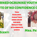 Remove Peter Egenti and Pat Offiah, Ogbunike Youths urges Obiano