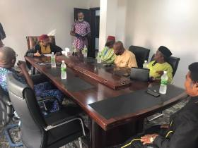 Dr. Maduka Receives Executives of Anambra Elders Stakeholders Forum