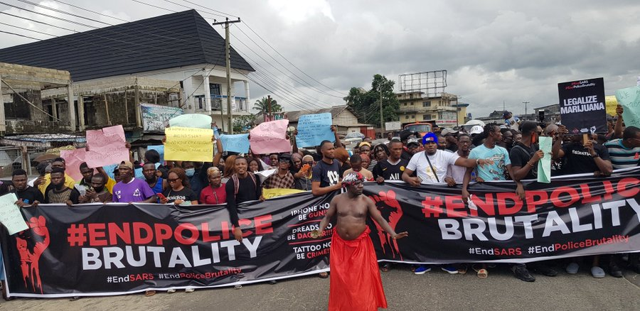 I salute your courage, Nnamdi Kanu tells END SARS protesters