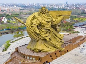 Guan Yu: China to spend over $20 million moving god of war statue
