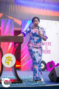 """HON. ABIKE DABIRI CHARGES NIGERIAN YOUTHS TO BE """"MORE""""."""