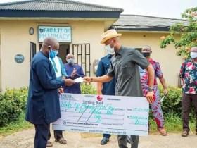 Ambrose Alli Varsity boosts Edo response with 5,000 reusable Facemasks