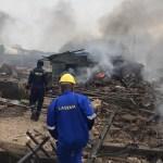 Gas explosion rocks Iju Ishaga Lagos community