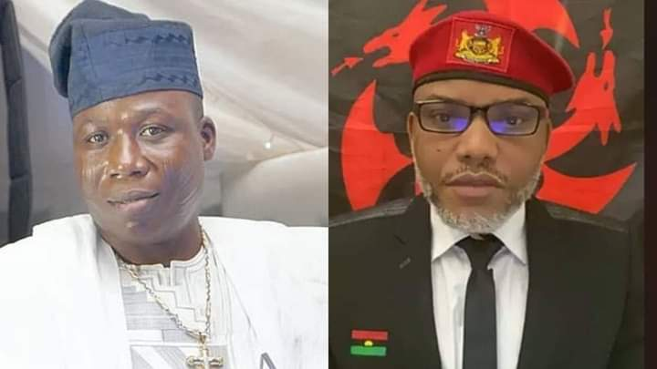 IPOB, PANDEF reacts to the invasion of Sunday Igboho's home and Nnamdi Kanu's re-arrest
