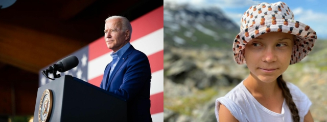 Climate Change: Biden is not acting 'as seriously as we need' - Greta Thunberg