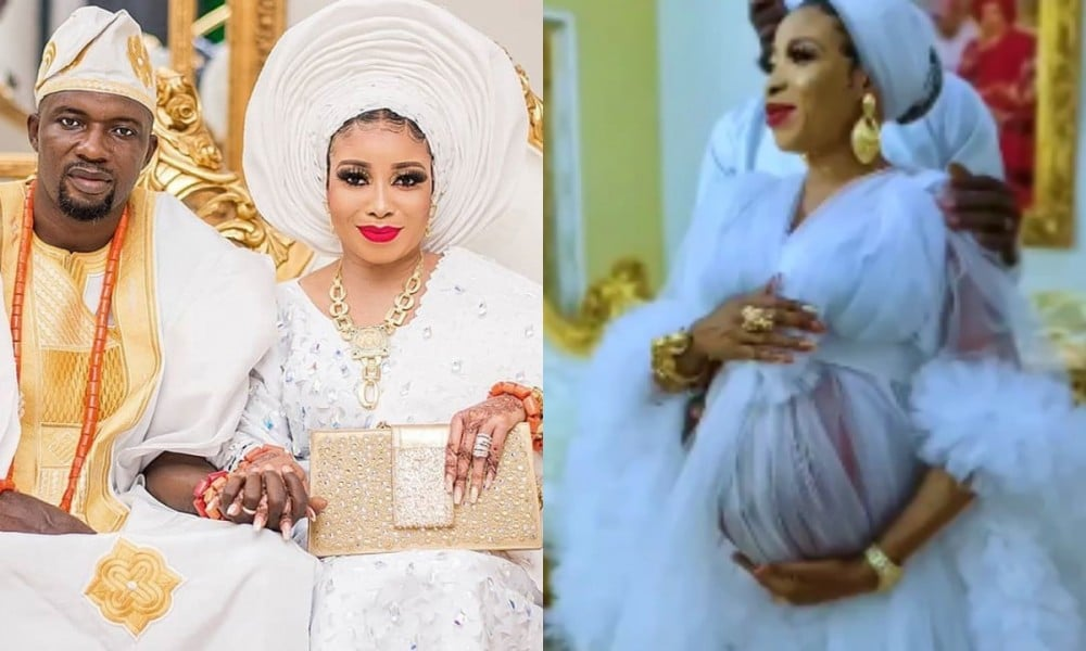 Lizzy Anjorin and husband welcomes first child in America