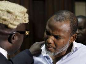 No indication that Nnamdi Kanu is in danger, says Lawyer