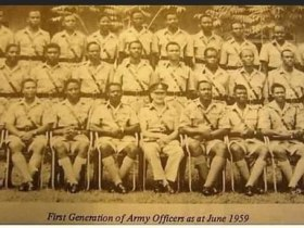 Meet the First 30 Nigerian Military Officers (Photo)