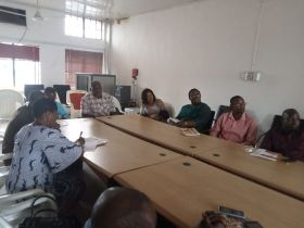 Thomas Ebong Tasks Info Managers to Think Outside the Box