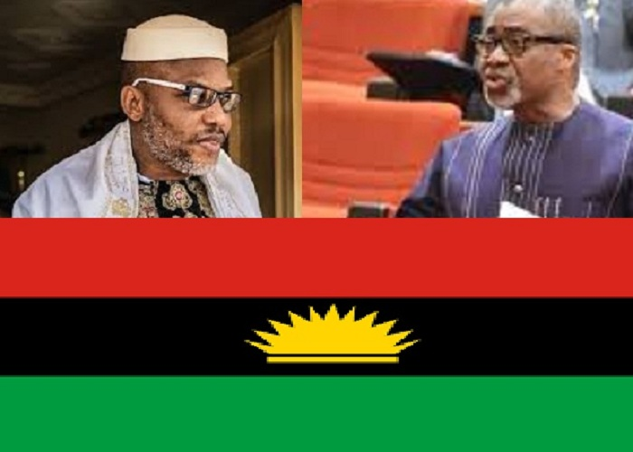 Armed Forces Service Commission Bill: Nnamdi Kanu Hails Abaribe