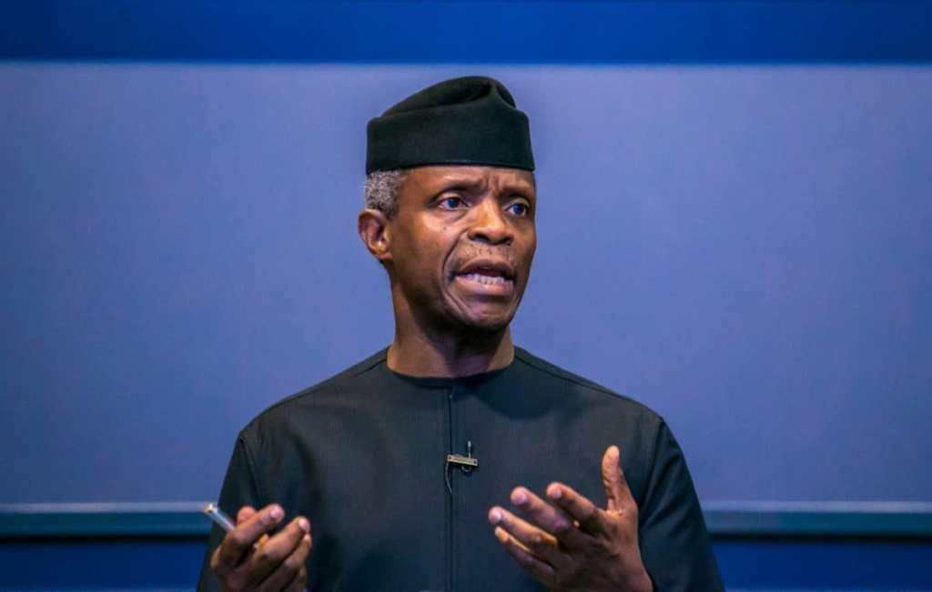My heart goes out to all the victims of the Lekki shootings - VP Osinbajo
