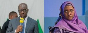 Obaseki fires back at Zainab Ahmed, over denial of printed N60bn