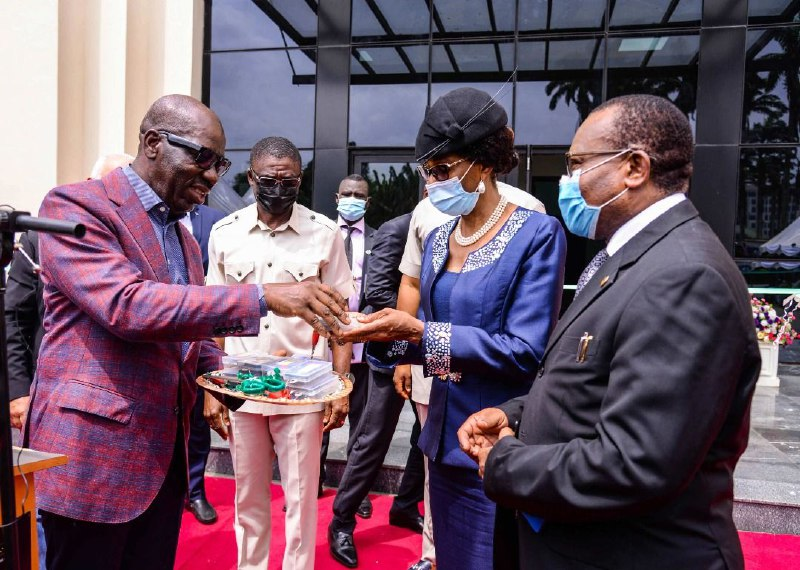 Obaseki hands over new High Court Complex to judiciary