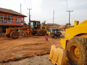 Osi-Ikola/Navy Road in Otta to be Completed before Dec. 25.
