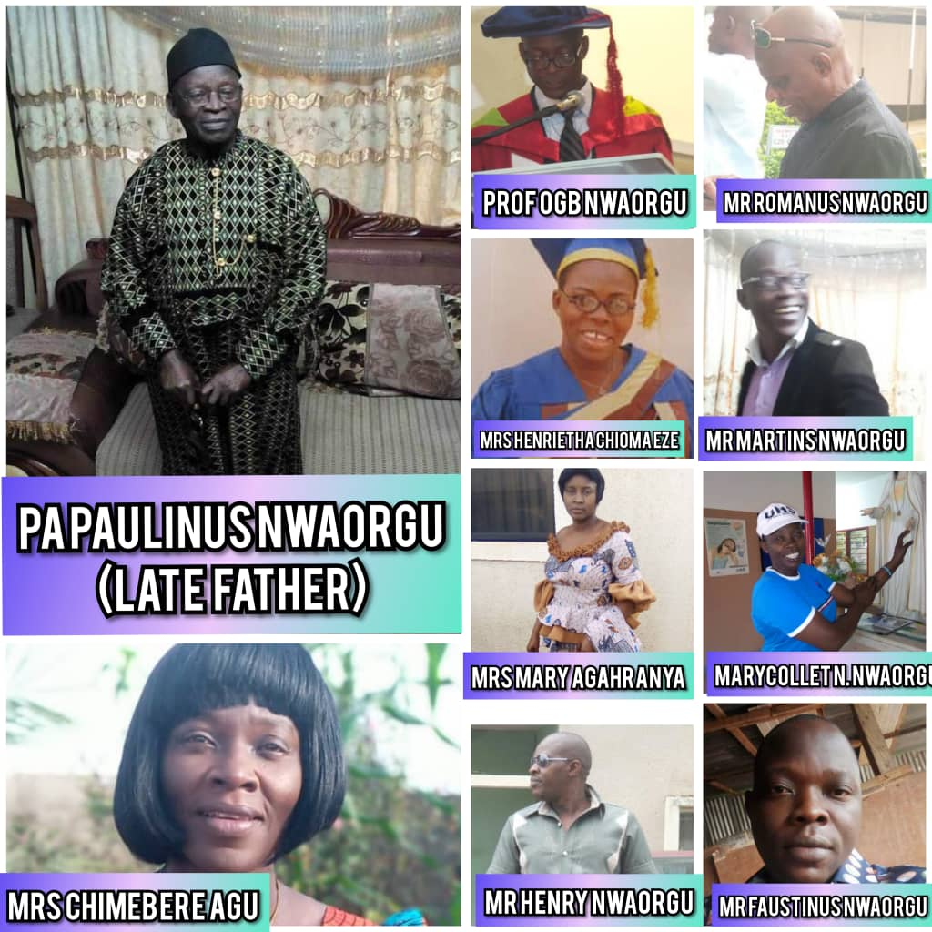 SIR P.N. NWAORGU: A Tribute to an Epitome of Humility, Father-In-Law