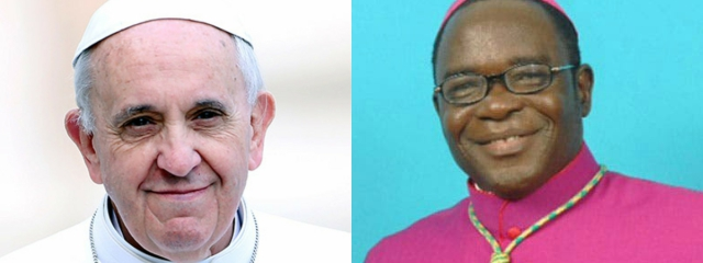 Pope Francis appoints Bishop Kukah member of Dicastery