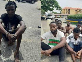 Police arrest notorious robber, SMALL and arsonists in Lagos