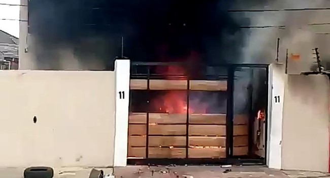 Here is what led to the Burning of Gov. Sanwo-Olu's Mother House at Surulere