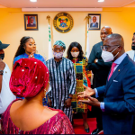 Sanwo-Olu initiates project to develop Entertainment Industry