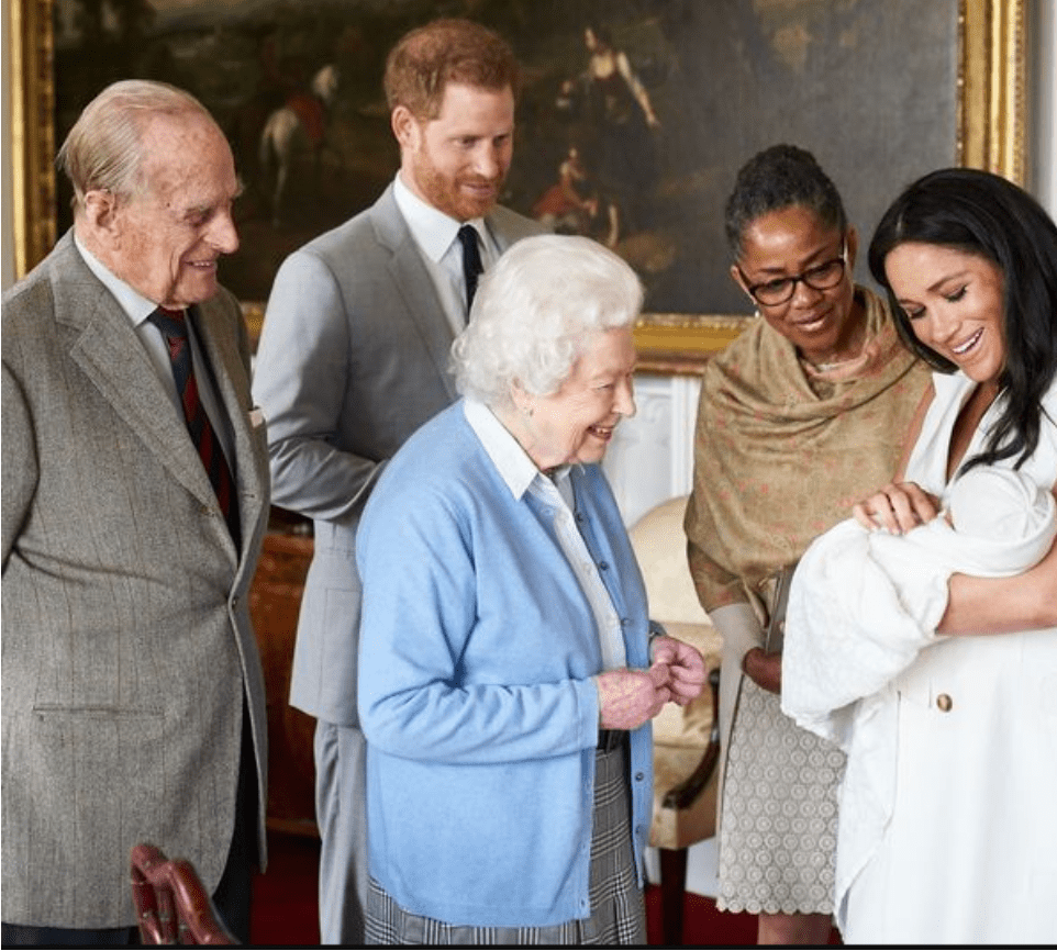Queen Elizabeth celebrates Archie with family as he turns 2