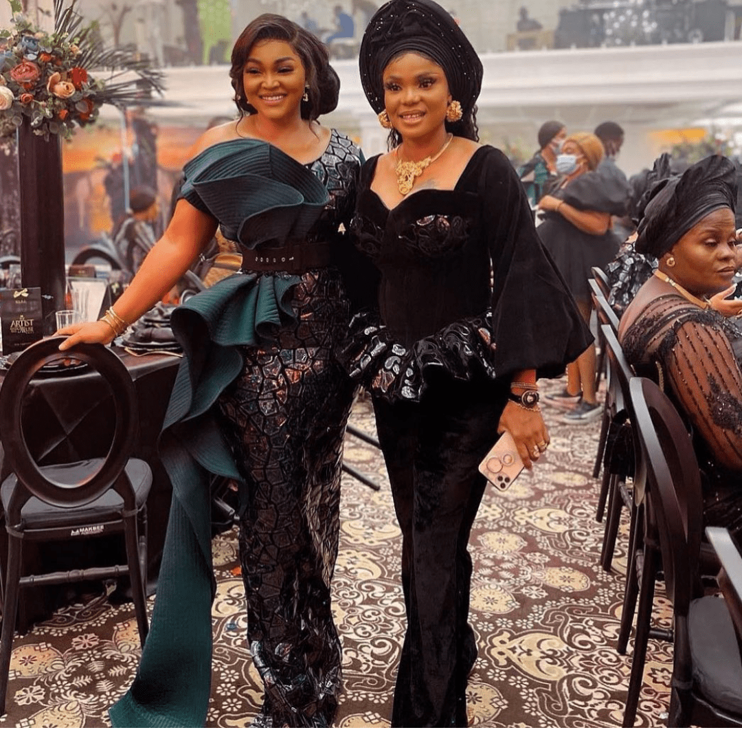 Iyabo Ojo and Mercy Aigbe ended their beef after one year