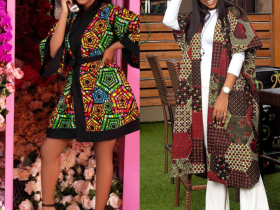 Fashionable Ankara Jacket you can slay to special occasions