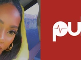 Tiwa Savage reacts as Pulse Ng tries hitting her head with Nigerians