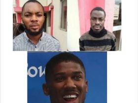 Two Nigerians arrested by Antigraft Agency for Impersonating Anthony Joshua