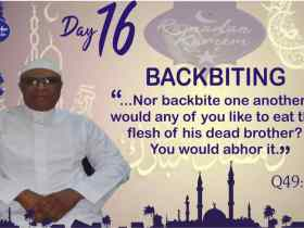 Why Muslims must avoid Backbiting and Gossip