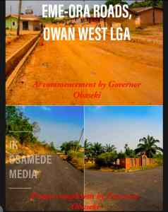 Before and after photos of Gov. Godwin Obaseki's Road Projects