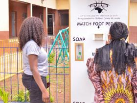 AYO CHARITY FOUNDATION DONATES TO CHILDREN CENTRE