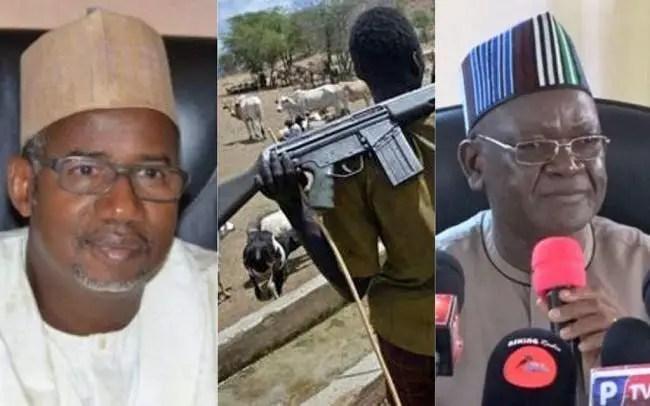 AK-47 Herdsmen: Northern Govs to Reconcile Ortom, Bala - El-Rufai