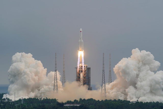 Debris from Chinese rocket lands in Indian Ocean, not Abuja