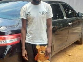 Nigerian man allegedly steals a car, repaints it within 8 hours