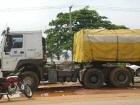 Three dead in Delta state as Car rams into Cement Truck