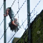 We'll arrest those who hung baby on barbed wire fence – Police