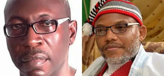 Nnamdi Kanu speaks in Edo Election; Chides Ize-Iyamu