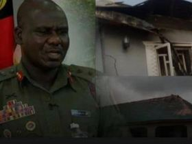 Soldiers allegedly burnt down houses and school in Taraba
