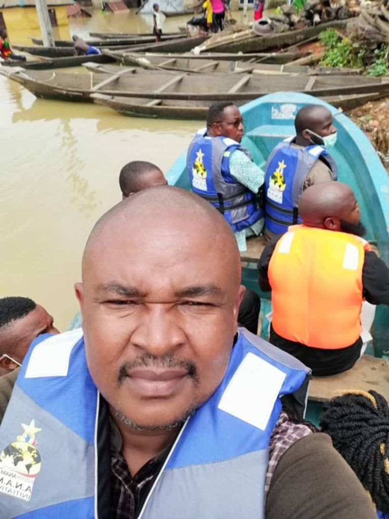 How Doctor Godwin Maduka came through for Anambra Flood Victims