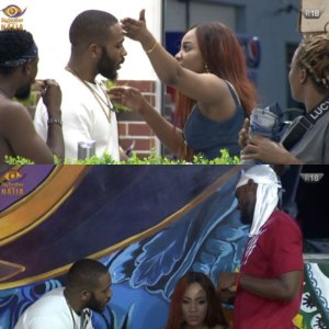 #BBNaija : Erica tenders apology to the Housemates after going Extra on Laycon