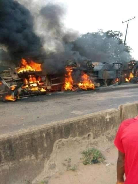 Lokoja Tanker Explosion: 23 dead; 2 Survivor